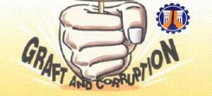 FCA - graft and corruption fist
