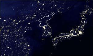 FCA - north korea satellite nasa lights OLD