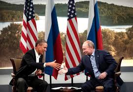 FCA - Obama Putin handshake