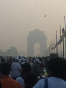 India Gate, January
