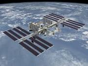 The ISS in orbit