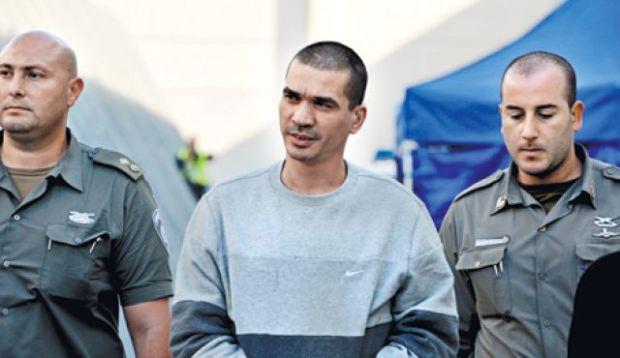 Crime boss Yitzhak Abergil. Photo by Israel Police